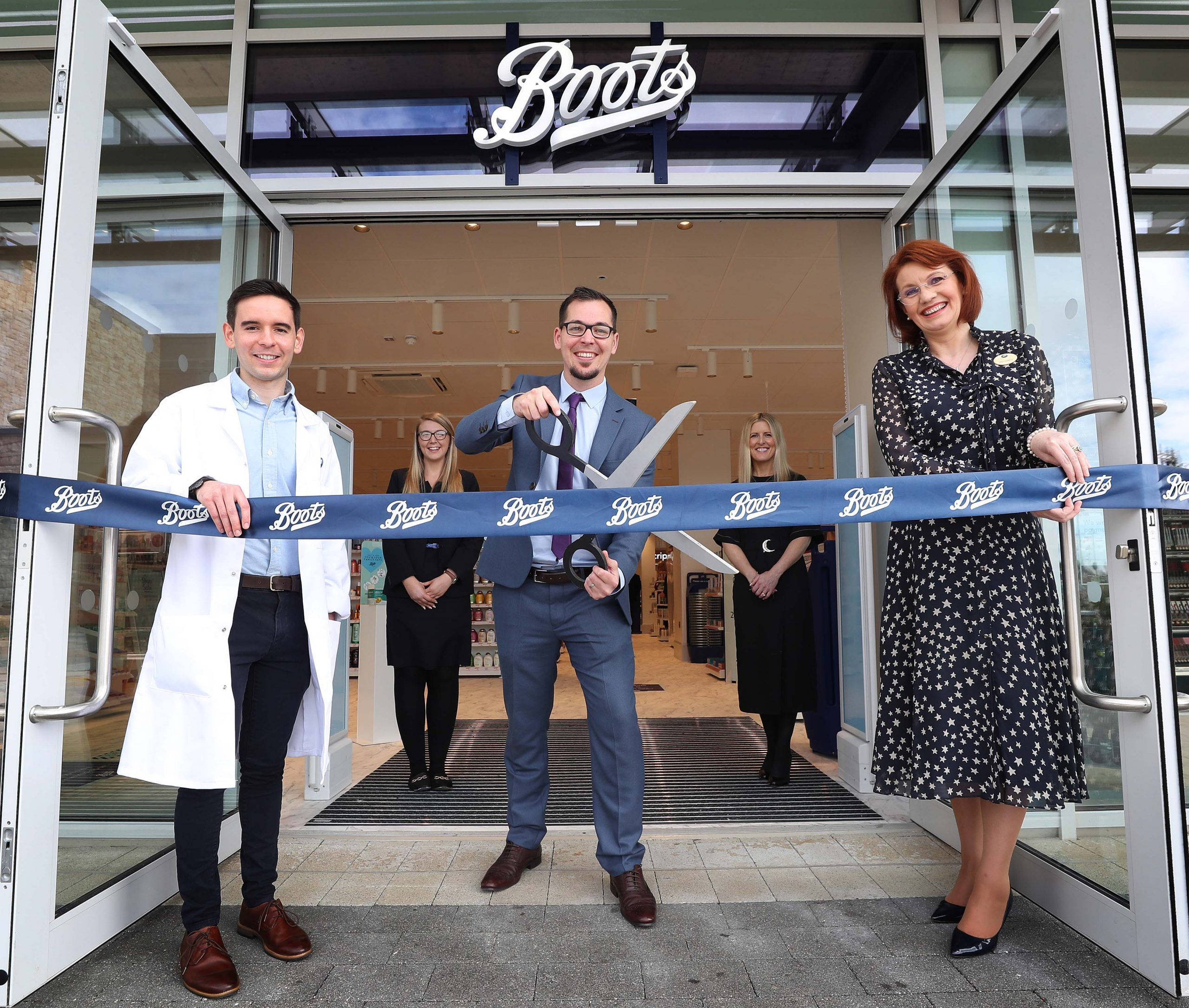 Boots Ireland Grand Opening in Gateway Shopping Park Knocknacarra