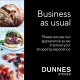Business as Usual at Dunnes Stores